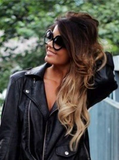 Ombre hairstyle inspiration
