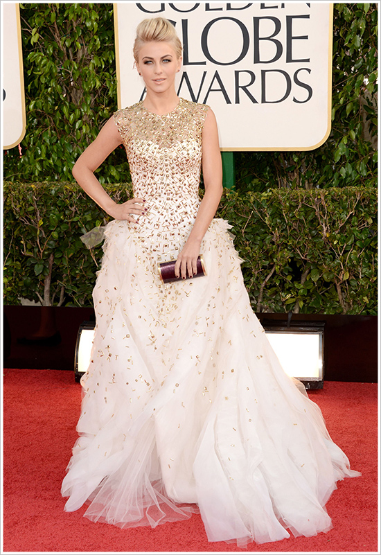Julianne Hough Golden Globes 2013 Fashion