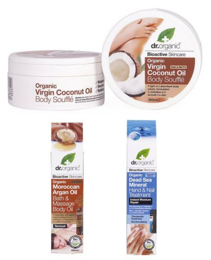 Dr Organic Skincare Products