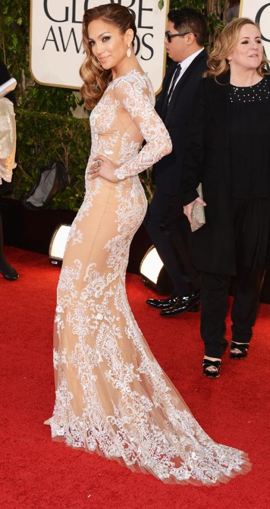 Jennifer Lopez Golden Globes Zuhair Murad 2013