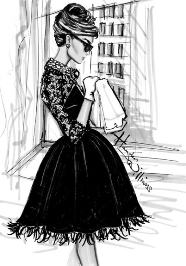 Hayden Williams Breakfast at Tiffany's Audrey Hepburn