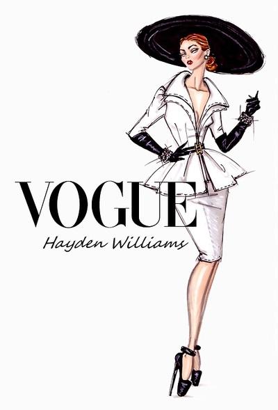 Hayden Williams Fashion Illustrations Vogue