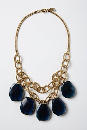 Anthropologie Fairburn Sapphire Necklace £48
