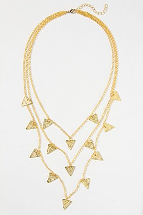 Pivoted Points Necklace £38