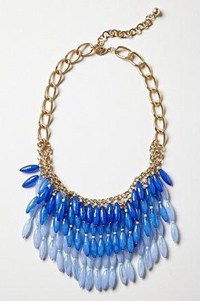Ton-Sur-Ton Beaded Bib Necklace £38