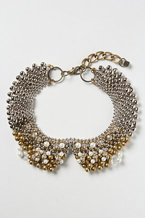 Sparked Agate Bib Necklace £48