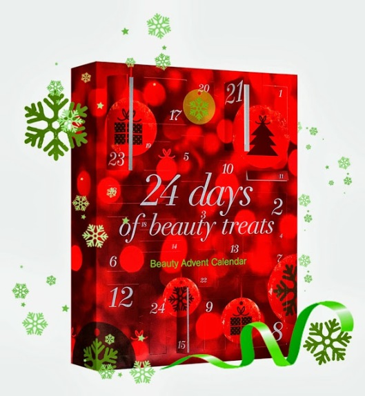 BOOTS '24 Days of Beauty Treats' Advent Calendar Christmas 2013