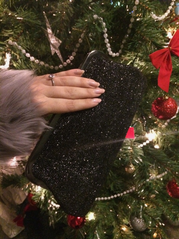 Glitter Sparkly Clutch Bag Dorothy Perkins