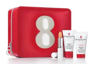 Elizabeth Arden Eight 8 Hour Cream Gift Set Winter Essentials Blog Blogger Review