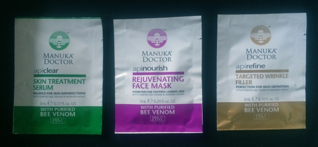 Manuka Doctor Bee Venom & Manuka Honey Skincare  Review