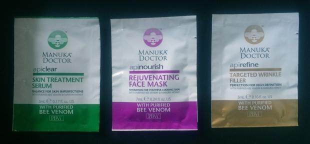 Manuka Doctor Bee Venom & Manuka Honey Skincare  Review