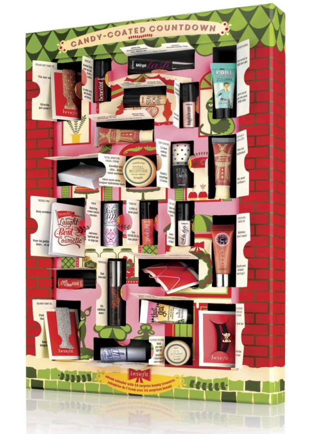 Benefit Candy-Coated Countdown Beauty Advent Calendar 2014 Debenhams Benefit Website