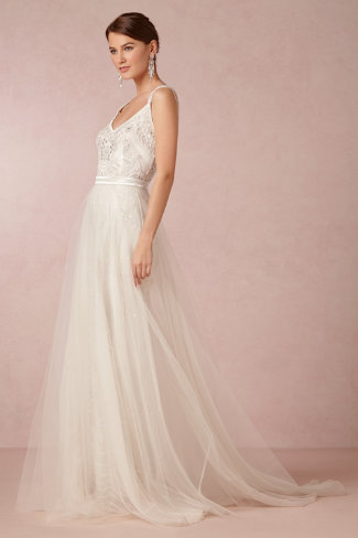BHLDN Elsa Tulle Skirt
