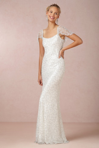 BHLDN Snowflake Gown by Amanda Garrett