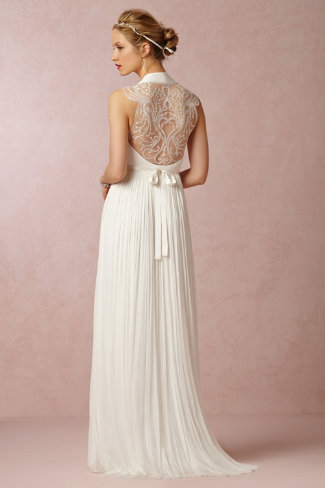 BHLDN Wing Gown