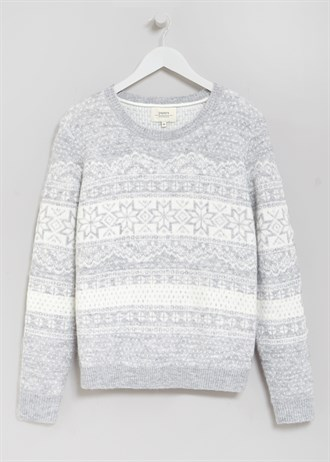 Matalan £20 - Fairisle Brushed Jumper