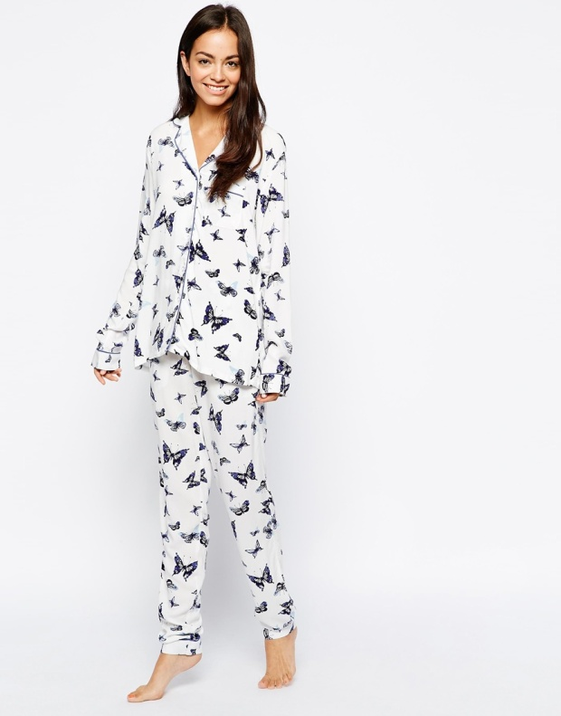 New Look White Butterfly PJ Set £19.99 from ASOS