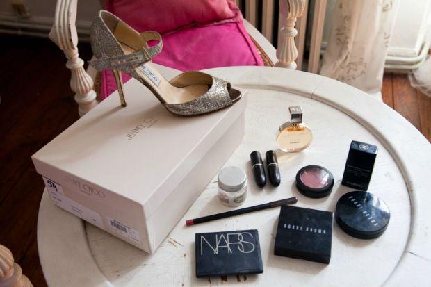 DIY wedding makeup bridal soft romantic look NARS MAC