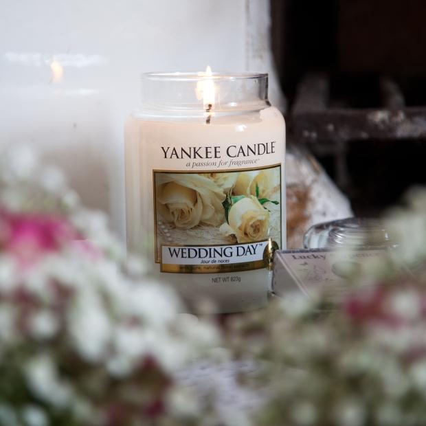 Yankee Wedding Day Jar Candle