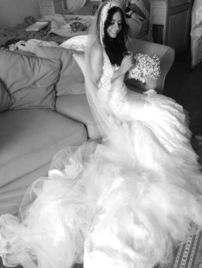 Inbal Dror inspired wedding dress replica