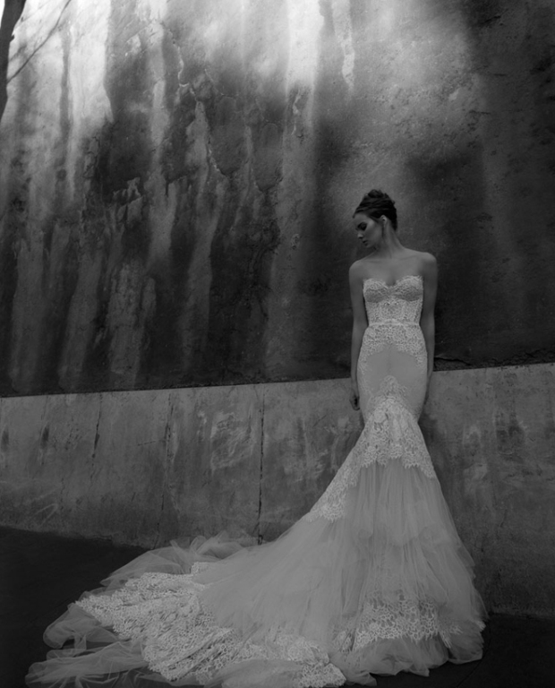 Wedding Dress Replica in the style of Inbal Dror Dresses similar to Inbal Dror Galia Lahav