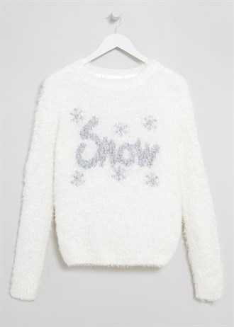 Matalan £18 - Fluffy Snow Christmas Jumper