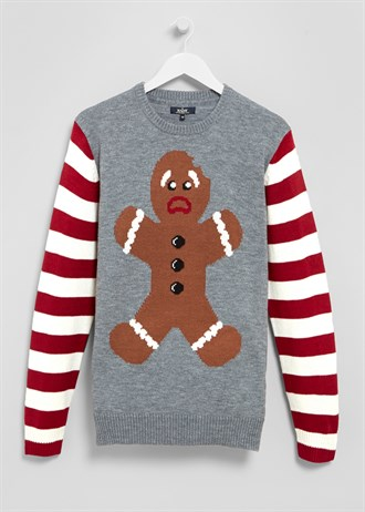 Matalan £15 - Gingerbread Man Christmas Jumper