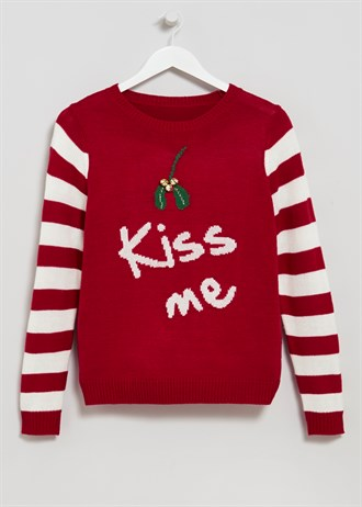 Matalan £15 - Mistletoe Kiss Me Christmas Jumper