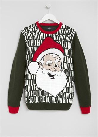 Matalan £15 - Mens Santa Hohoho Christmas Jumper