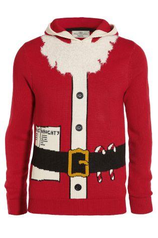 NEXT £28 - Red Santa Suit Hoody