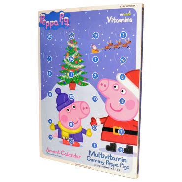 Peppa Pig Multivitamin Advent Calendar healthy christmas kid children