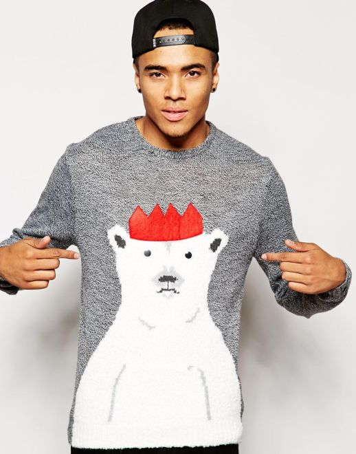 River Island £35 - Polar Bear Christmas Jumper
