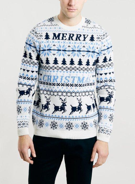 Topman £28 - Merry Christmas Jumper